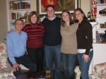 Remember Mr May?? He is a choral director at Moline High School and this is his family at Christmas in 08