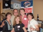 Shelley Kimble, Lisa Carter, Leslie Kimble, Ron Leedham, Brenda Brune